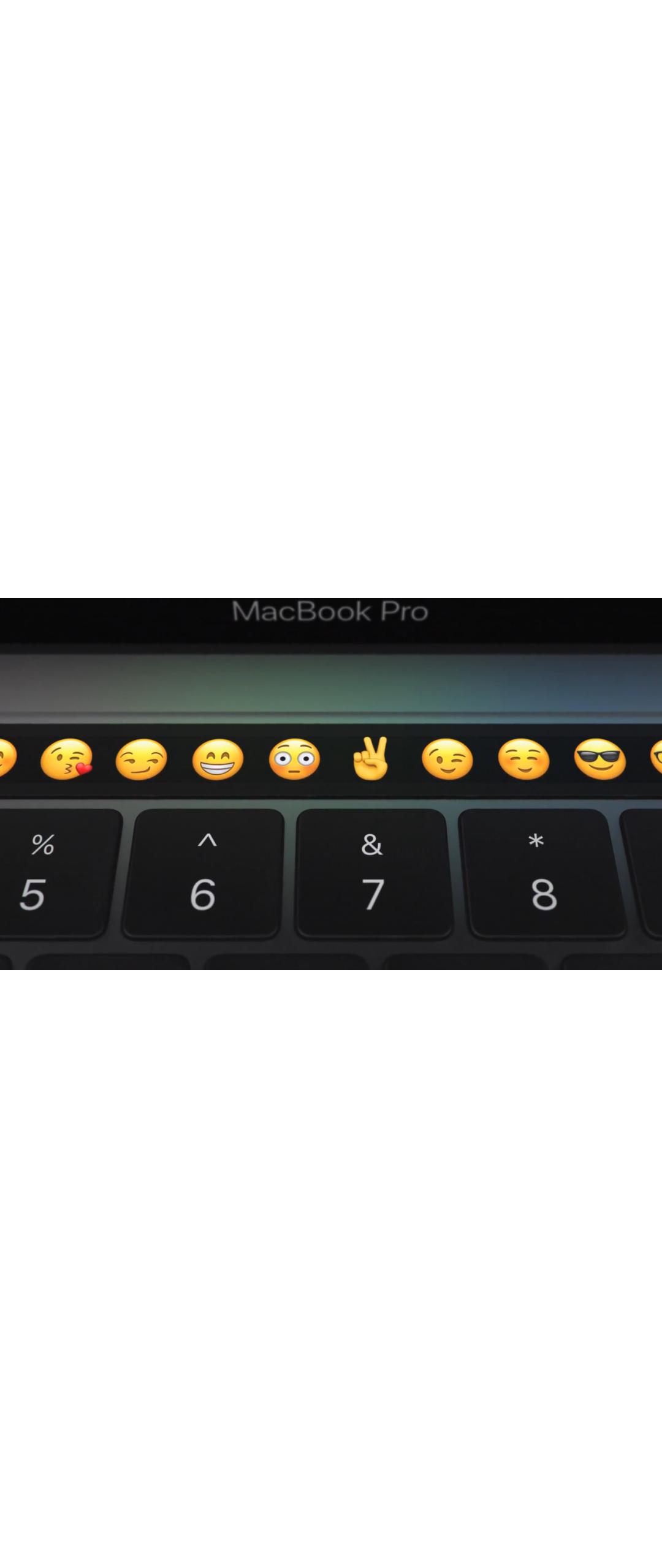Apple añadió soporte para Touch Bar a aplicaciones de edición musical